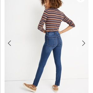 """MADEWELL 10"""" High-Rise Skinny Jeans: THERMOLITE®"""